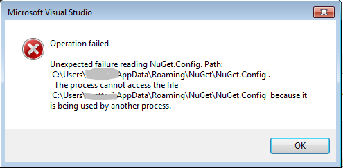 error-nuget