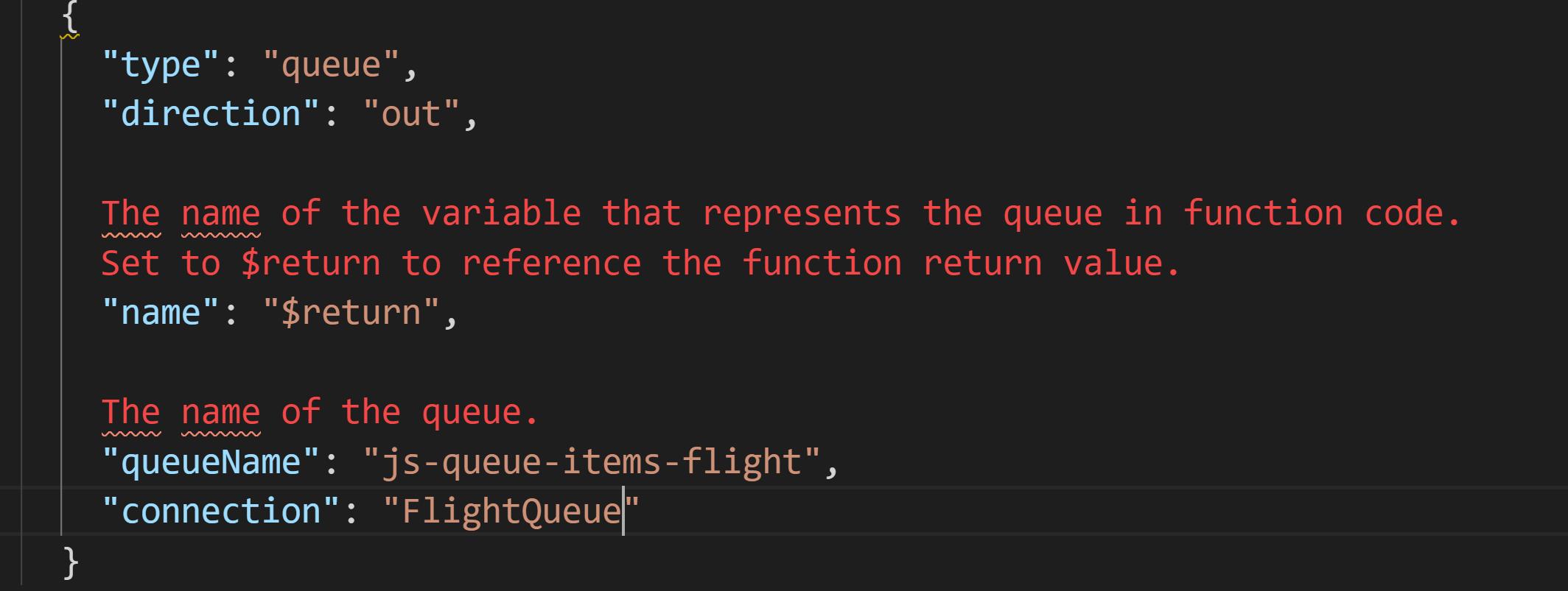 queue-output-binding